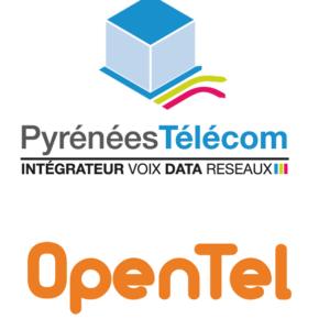 Logo Pyrénées Telecom - Opentel