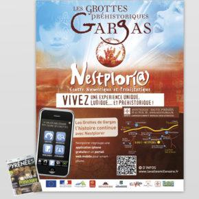 Page publicitaire Pyrénées Magazine, spécial Préhistoire